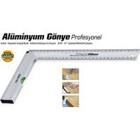 Sgs Aliminyum Gönye Profesyonel 30 Cm 090360 6Lı Paket