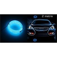 Modacar 6Lı Paket Mavi Tube Neon Kablo 2 Metre 378815