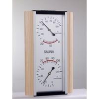 Poolline Sauna Higrometre - Termometre Kombine