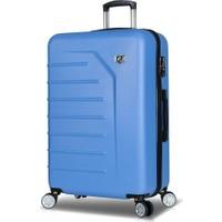 My Valice Premium Abs Büyük Boy Valiz Açık Mavi