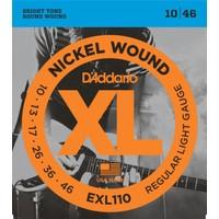 D'Addario EXL110 Elektro Gitar Teli (10-46)