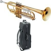 Jupiter Jtr-408L Trompet (Gold Lacquer)