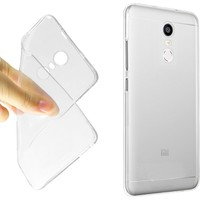 Microcase Xiaomi Redmi Note 4 Ultra İnce Silikon+Tempered Glass