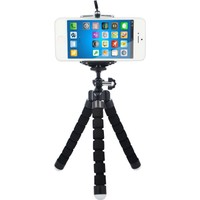 Microcase Sünger Ayaklı Akrobatik Cep Telefonu Ahtapot Tripod 3 Ayak