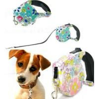 Pratik Pup Style Desenli Köpek Gezdirme Tasması
