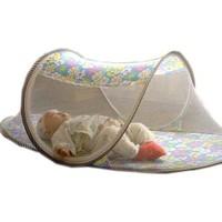 Pratik Katlanabilir Bebek Sineklik Koruyucu Cibinlik Mavi