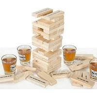 Pratik Drunken Tower Shot Bardaklı Denge Oyunu
