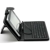 Polygold 7.Türkçe Klavyeli Deri Tablet Kılıfı