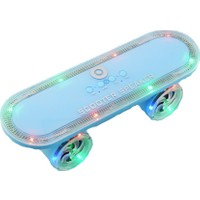 Polygold Kaykay Scooter Şeklinde Bluetooth Hoparlör Kablosuz Müzik Çalar