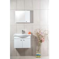 Ceylan Mira 65 cm Beyaz Asma Banyo Dolabı