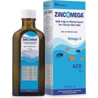 Zincomega Balık Yağı Omega 3 Acd3 E Vitamini 100Ml