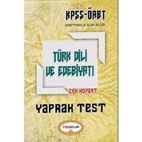 Yediiklim Yayınları 2017 Öabt Türk Dili Ve Edebiyatı Çek Kopart Yaprak Test
