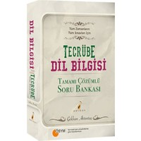 Pelikan Yayınları Tecrübe Dilbilgisi Tamamı Çözümlü Soru Bankası Tüm Zamanların Tüm Sınavları İçin