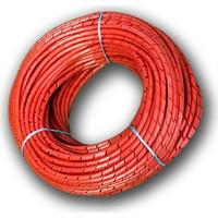 Sumergroup Helezon Pano Kablo Toplama Spirali No: 2 - 8 Mm Rulo Kırmızı 100 Mt