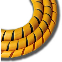 Sumergroup Helezon Pano Kablo Toplama Spirali No: 3 - 11 Mm Rulo Turuncu 100 Mt