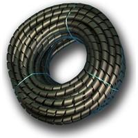 Sumergroup Kablo Toparlayıcı Düzenleyici Spiral No: 4 - 14 Mm Rulo Siyah 50 Mt