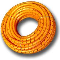 Sumergroup Kablo Toplama Koruma Spirali No: 9 - 40 Mm Rulo Turuncu 25 Mt