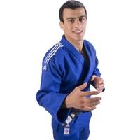 Adidas Champion II IJF Onaylı Judo Müsabaka Elbisesi Mavi