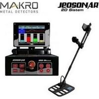 Makro Dedektör Jeosonar 2D Sistem