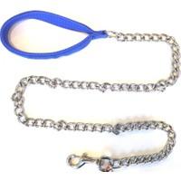 Atlantik Köpek Gezdirme Zinciri 3,5mm*120 Cm Mavi