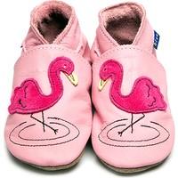 İnch Blue Hakiki Deriden Patik Flamingo Baby Pink