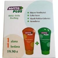 Softto Plus Bitki Özlü Peeling 1+1