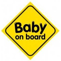 Automix Baby On Board Vantuzlu