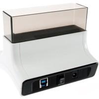 "Unitek USB3.0 SATA6G 2.5""/3.5"" Hard Disk Dock İstasyonu + 3-Port Hub (OTB ile)"