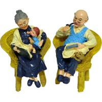 Sevimli Yaşlılar Nene-Dede 2 li Büyük