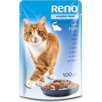 Reno Balıklı Kedi Pouch 100 Gr 6 Adet