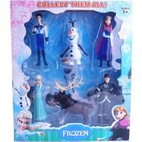 50Bir Karlar Ülkesi Frozen 6lı Figür Seti BX01B