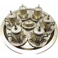 Myros Zamak 6'lı Set Gümüş
