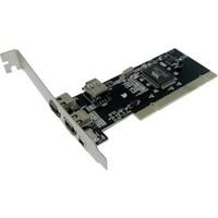 M-Tech Mtbk0006 Ieee 1394 Firewire 400 Pcı Kart, 3 Harici + 1 Dahili Port, 4 Ve 6 Pin