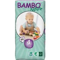 Bambo Nature Bebek Bezi 4 Beden 60 Adet