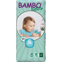 Bambo Nature Bebek Bezi Junior 5 Beden 54 Adet