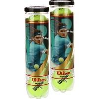 Wilson WRT1110E02P Federer İmzalı ITF Onaylı 4lü 2 Kutu Tenis Topu