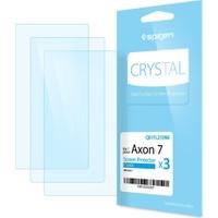Spigen ZTE Axon 7 Crystal Ekran Film - Q01FL21096