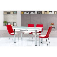 Gül Masa Mutfak Masaları Takımı 4 Adet Sandalyeli Mutfak Yemek Masası