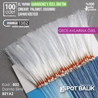 Abari Karadeniz Çinekop Gece Çaparisi Kösteği B02 Beyaz 100Ad