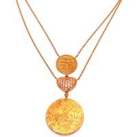 Nusret Taki 22 Ayar Altın Osmanlı Turalı Kalp Modeli Kolye