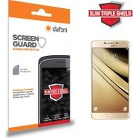 Dafoni Samsung Galaxy C7 SM-C7000 Slim Triple Shield Ekran Koruyucu