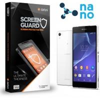 Dafoni Sony Xperia Z2 Nano Glass Premium Ön + Arka Cam Ekran Koruyucu