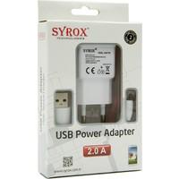 Syrox Sony Xperia Sola Şarj Cihazı Hızlı Şarj