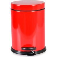 Afilli Derya Mikro 3 lt Çöp Kovası Kırmızı