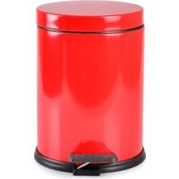 Afilli Derya Mikro 12 lt Çöp Kovası Kırmızı