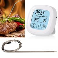 Dokunmatik Elektronik Alarmlı Fırın Ve Yemek Termometre Thr185