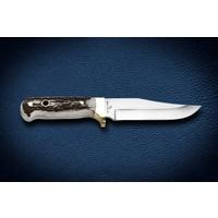Bora M 401 K.Bowie Geyik Boynuzu Saplı Bıçak
