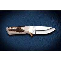 Bora M 421 Küçük Wild Boar Geyik Boynuzu Saplı Bıçak