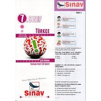 Sınav Dergisi Yayınları 7. Sınıf Türkçe Çek Kopar Yaprak Test