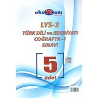 Ekstrem Lys 3 Türk Dili Ve Edebiyatı Coğrafya 1 Deneme Sınavı 5 Adet